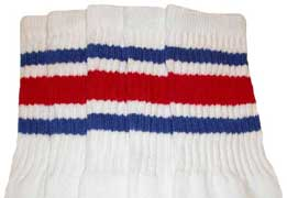 American pride striped tube socks